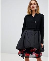 Abrigo negro de Vero Moda
