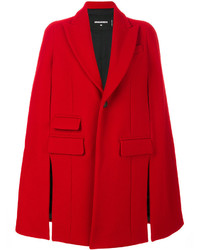 Abrigo rojo de Dsquared2