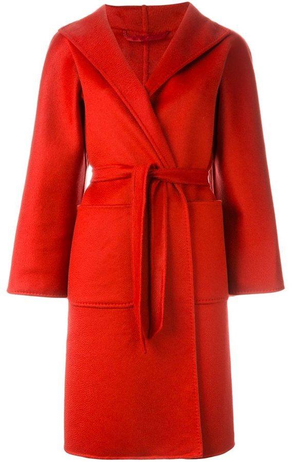 Max mara abrigo rojo