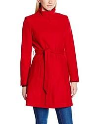 Abrigo rojo de Naf Naf