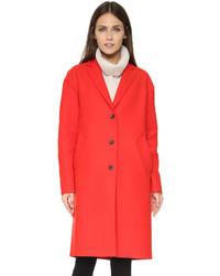 Abrigo rojo de Rag & Bone