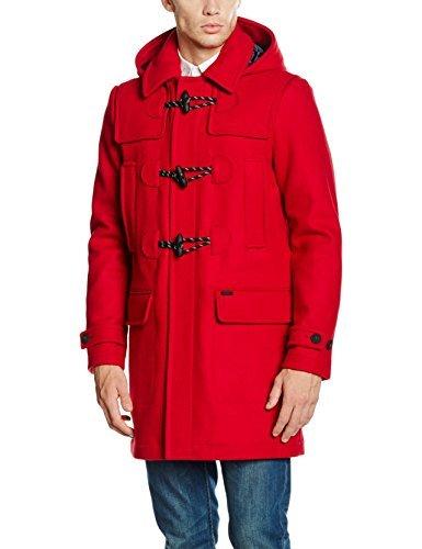 aa747ca1859 ... Abrigo rojo de Tommy Hilfiger ...