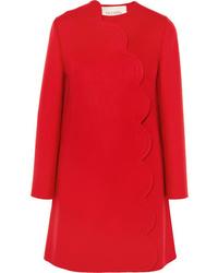 Abrigo rojo de Valentino