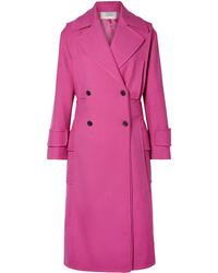 Abrigo rosa de Valentino