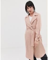 Abrigo rosado de ASOS DESIGN
