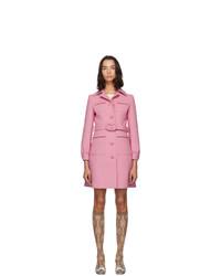 Abrigo rosado de Gucci