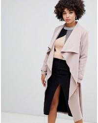 Abrigo rosado de Missguided