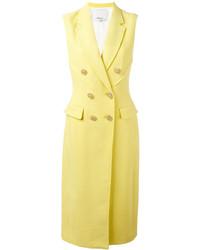 Abrigo sin mangas amarillo de 3.1 Phillip Lim