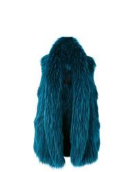 Abrigo sin mangas azul marino de Liska