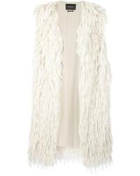 Abrigo sin mangas blanco de Isabel Marant
