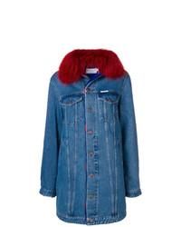 Abrigo Vaquero Azul de Forte Dei Marmi Couture