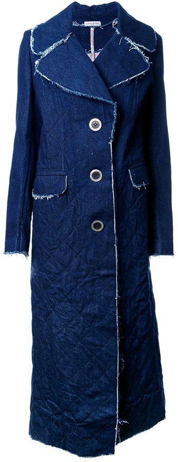 Abrigo Vaquero Azul de Natasha Zinko