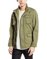 Abrigo verde oliva de Esprit
