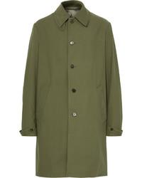 Abrigo verde oliva de Maison Margiela
