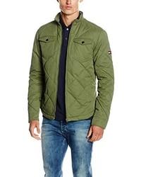 Abrigo verde oliva de Tommy Hilfiger