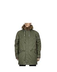 Abrigo verde oliva de Vans