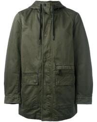 Abrigo verde oscuro de Diesel