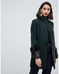 Abrigo verde oscuro de Vero Moda