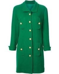 Abrigo verde de Chanel