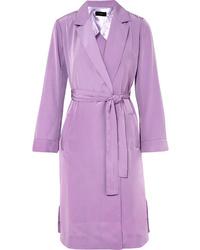 Abrigo violeta claro de J.Crew