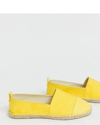 Alpargatas amarillas de ASOS DESIGN