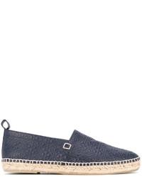 Alpargatas azul marino de Loewe