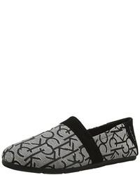 Alpargatas grises de Calvin Klein Jeans