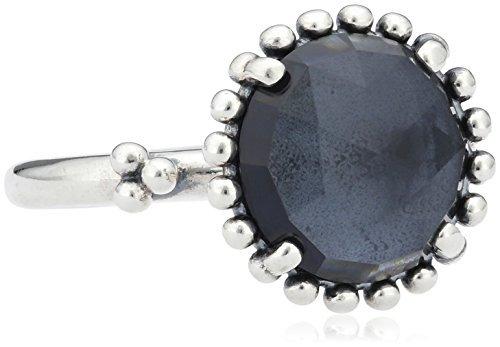 pandora anillo azul