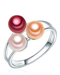 Anillo rosado de Valero Pearls