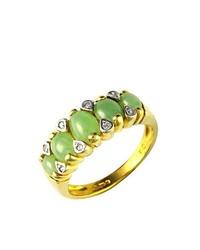 Anillo verde oliva de Ivy Gems