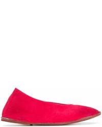 Bailarinas de ante rojas de Marsèll