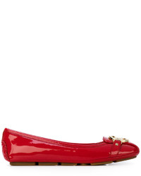 Bailarinas de cuero rojas de MICHAEL Michael Kors