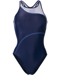 Bañador azul marino de adidas by Stella McCartney