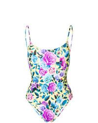 Bañador con print de flores en multicolor de MC2 Saint Barth
