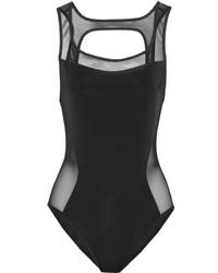 Bañador de malla negro de Jason Wu
