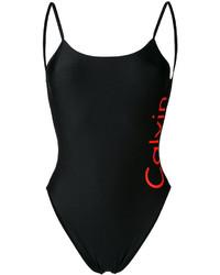 Bañador estampado negro de Calvin Klein Jeans