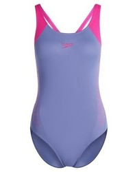 Bañador estampado violeta claro de Speedo