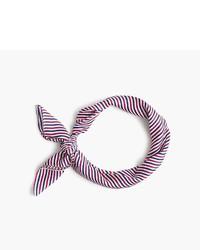 Bandana de rayas horizontales en multicolor