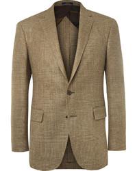 Blazer a cuadros marrón claro de Polo Ralph Lauren