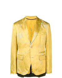 Blazer amarillo de Haider Ackermann