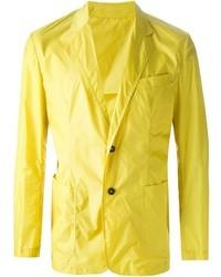 Blazer amarillo de MSGM