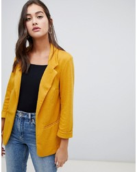 Blazer amarillo de New Look
