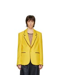 Blazer amarillo de Random Identities