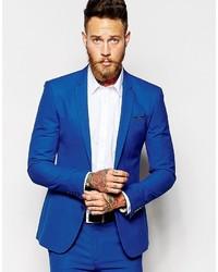 Blazer azul de Asos