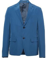 Blazer azul de Prada