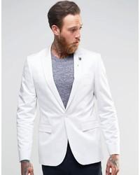 Blazer Blanco de Asos