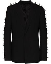 Blazer con tachuelas negro de Givenchy