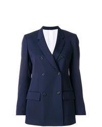 Blazer Cruzado Azul Marino de Calvin Klein 205W39nyc