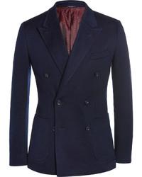 Blazer Cruzado Azul Marino de Dolce & Gabbana