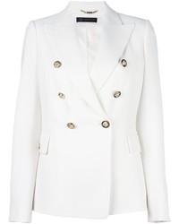 Blazer Cruzado Blanco de Versace